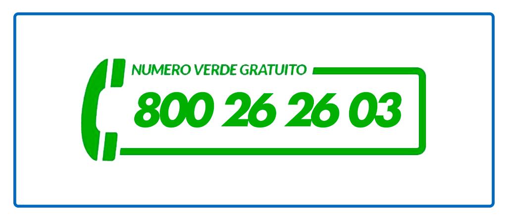 Numero Verde Gratuito Silvio Parisella Group